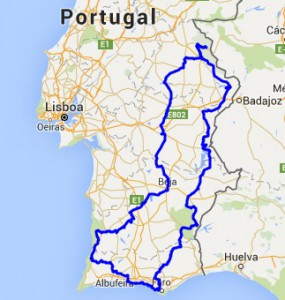 Route Portugal 2010
